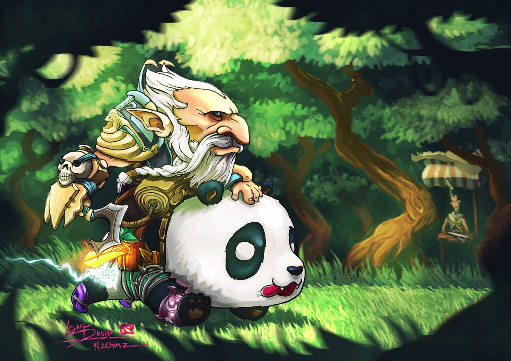 Lone Druid Dota 2 By N2c On Deviantart Lone Druid Art Dota 2 Wallpaper