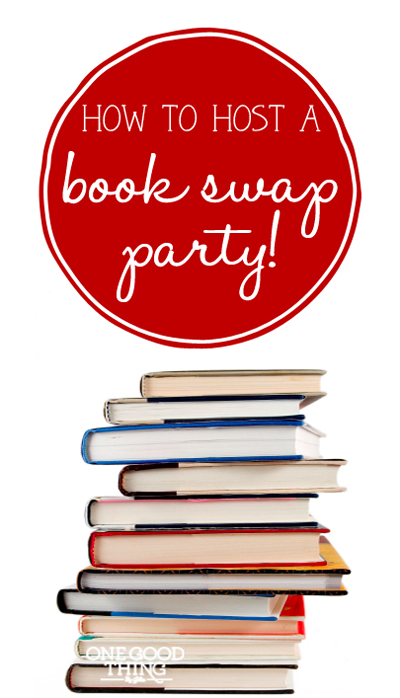 How To Host A Book Swap Party Book Swap