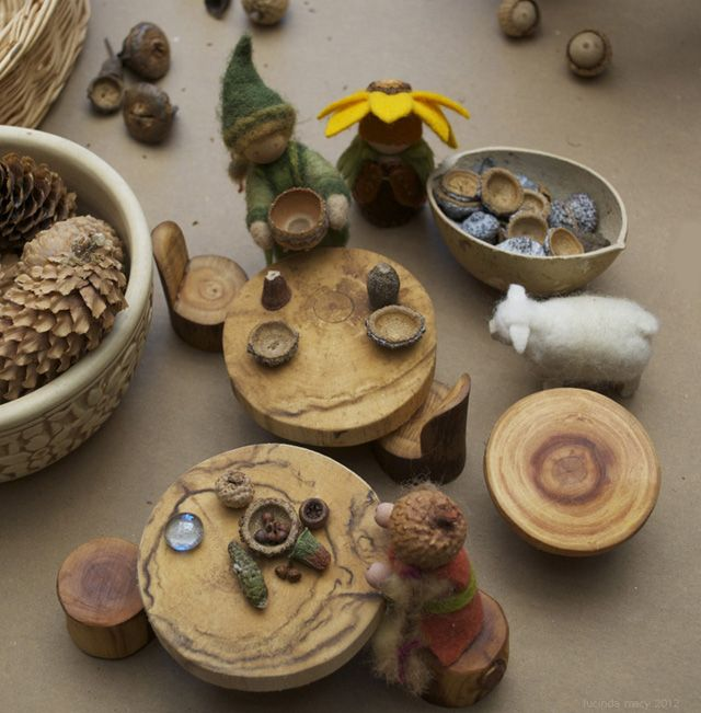 MAKING GNOME and FAIRY DISHES FROM SEED PODS- tutorial | Waldorf ...