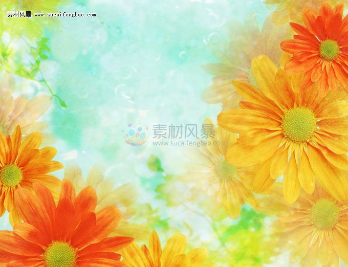 Flowers Ppt Background Image Material Download Ppt Flowers Ppt