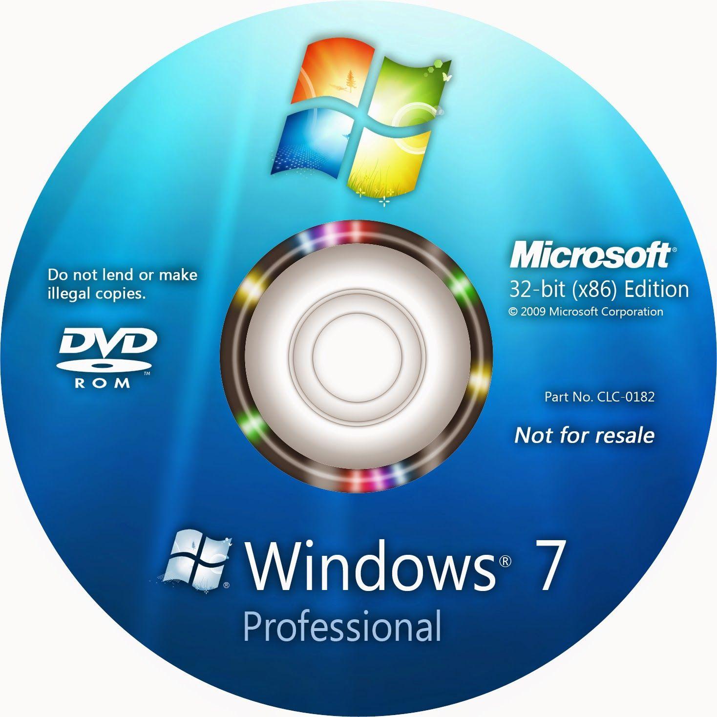 Windows 7 Professional 64 Bit Full Version Iso Download Microsoft Windows 32 Bit