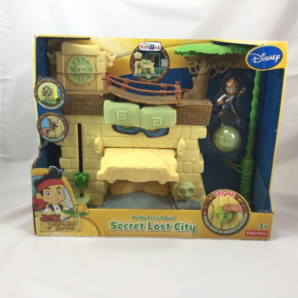 Hidden City Secrets: Disney Jake Neverland Pirates Secret Lost City Yo Ho Lets