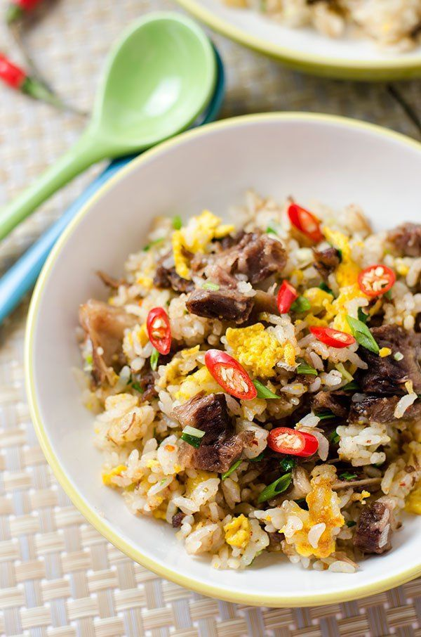 Easy Beef Fried Rice 牛肉炒饭 Recipe Rice Orzo Such