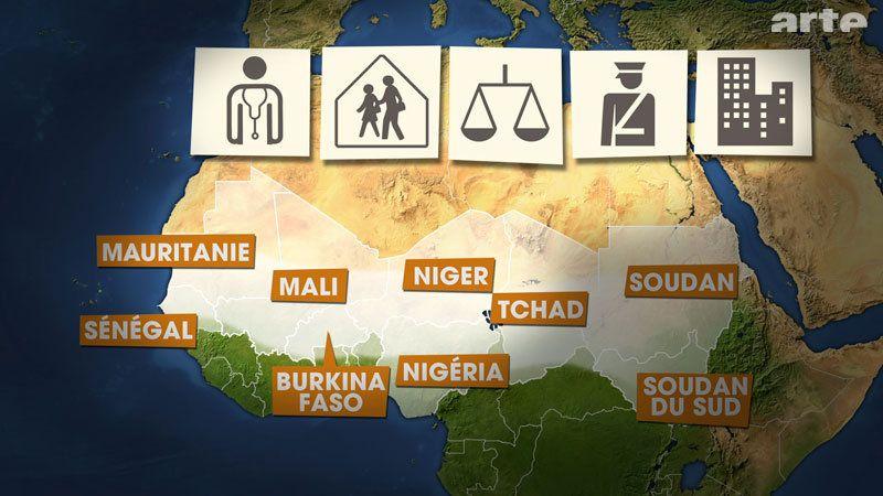 Die Davon Betroffenen Staaten Sind Mauretanien Mali Niger