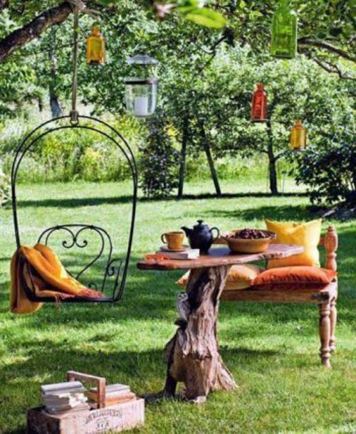 ausgefallene gartendeko - 15 reizende ideen für ihre, Garten ideen