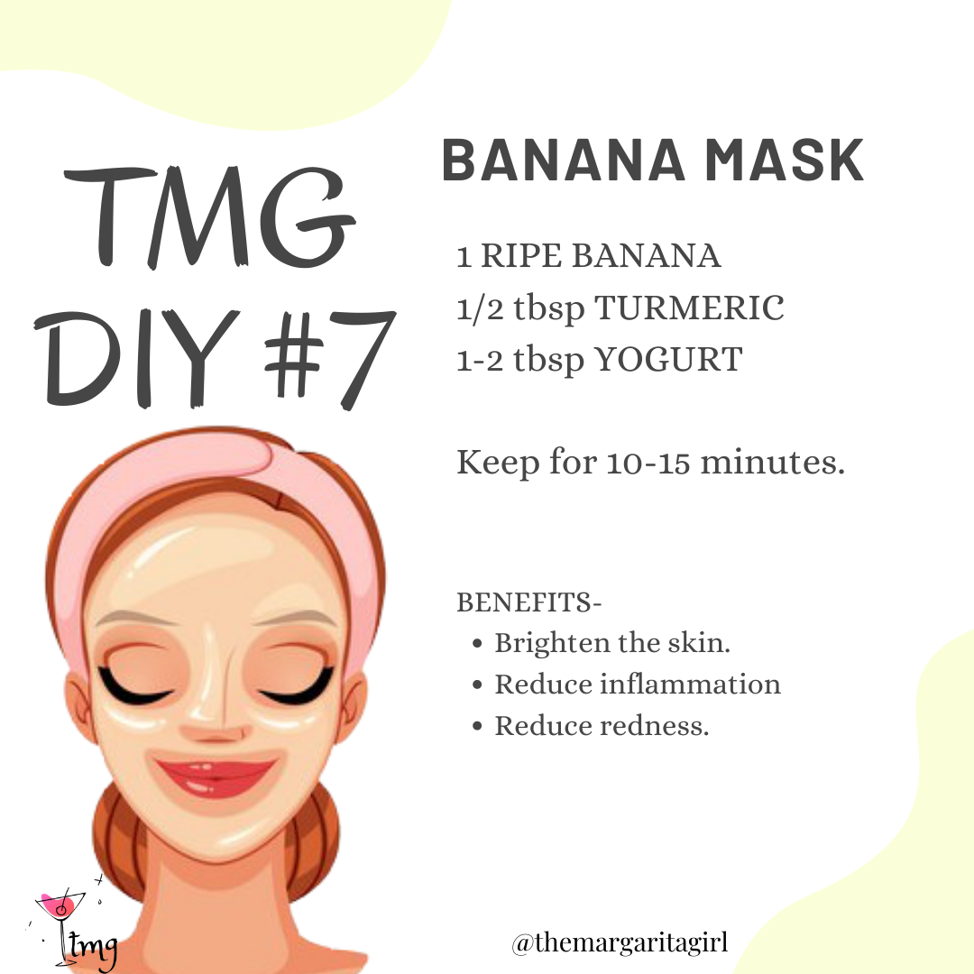 Diy Banana Mask In 2020 Beauty Tips For Glowing Skin Skin So Soft Radient Skin