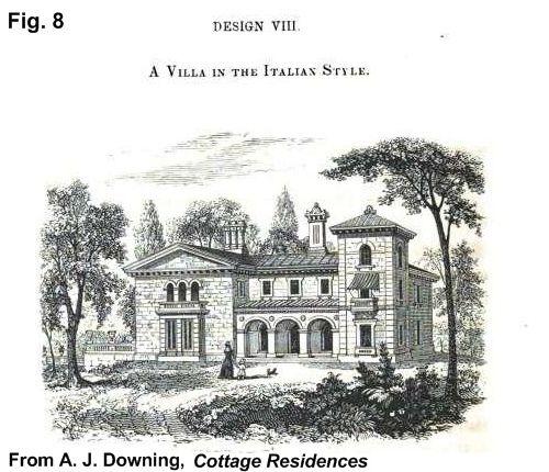 Italian villa house plans historic buildings of for Italian villa blueprints