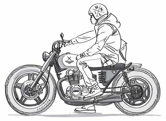 Pin By Vedran On Illustrations Moto Bike Drawing Bike Sketch Bike Illustration The latest tweets from @miss_mirajane pinterest
