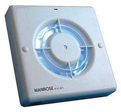 The Manrose Qf100t Quiet Extractor Fan Is Super And Probably Best Around Bathroom