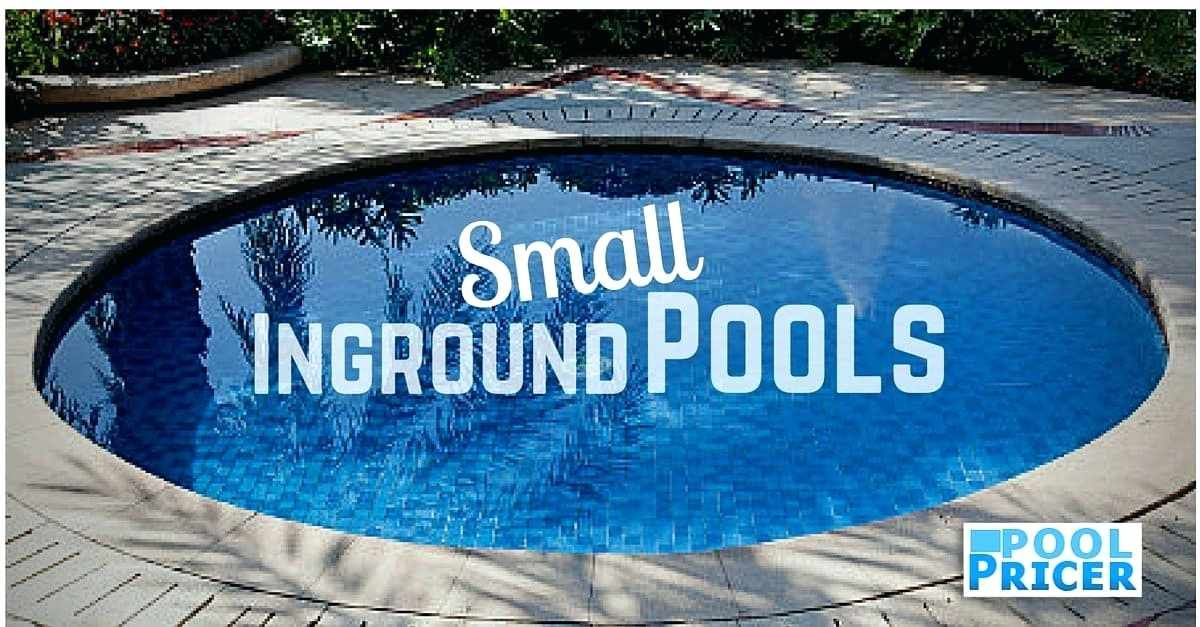 small inground pool small fiberglass pools for small yards ...