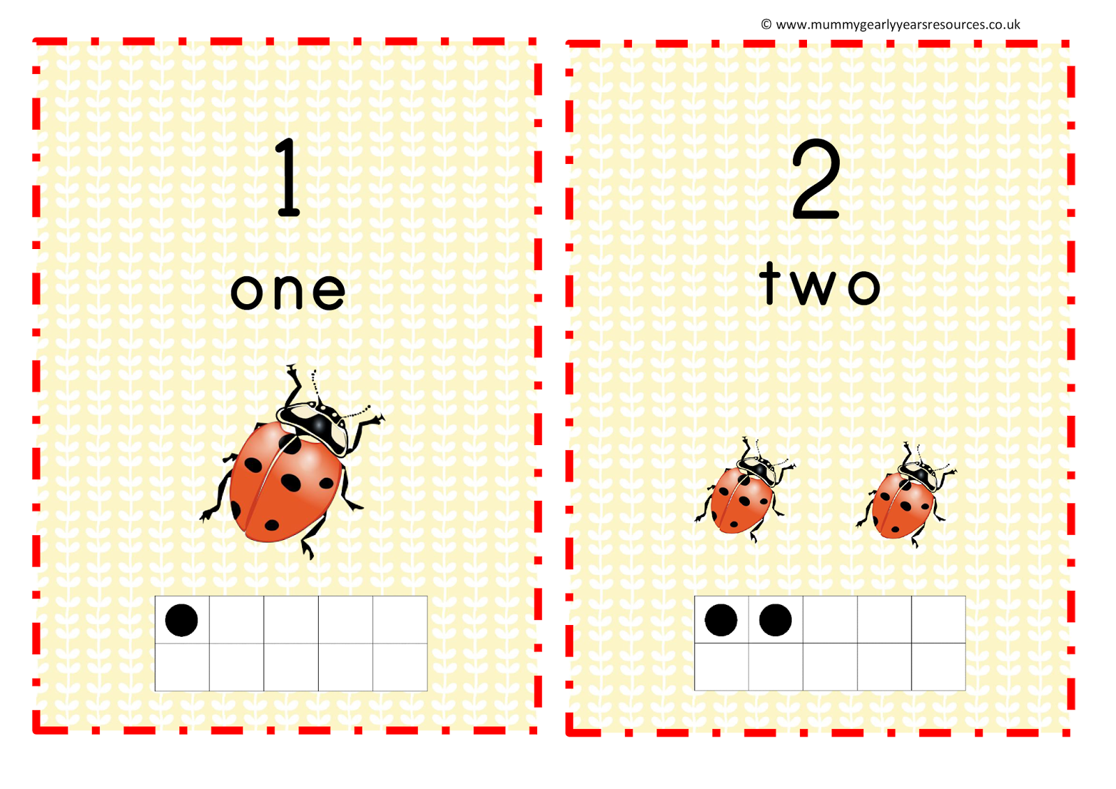 Mini beast number line - Mummy G early years resources | classroom ...