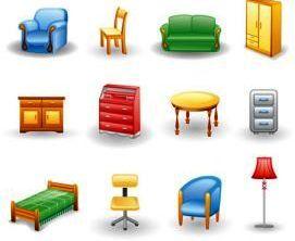 Картинки по запросу мебель картинки для занятий (с ...