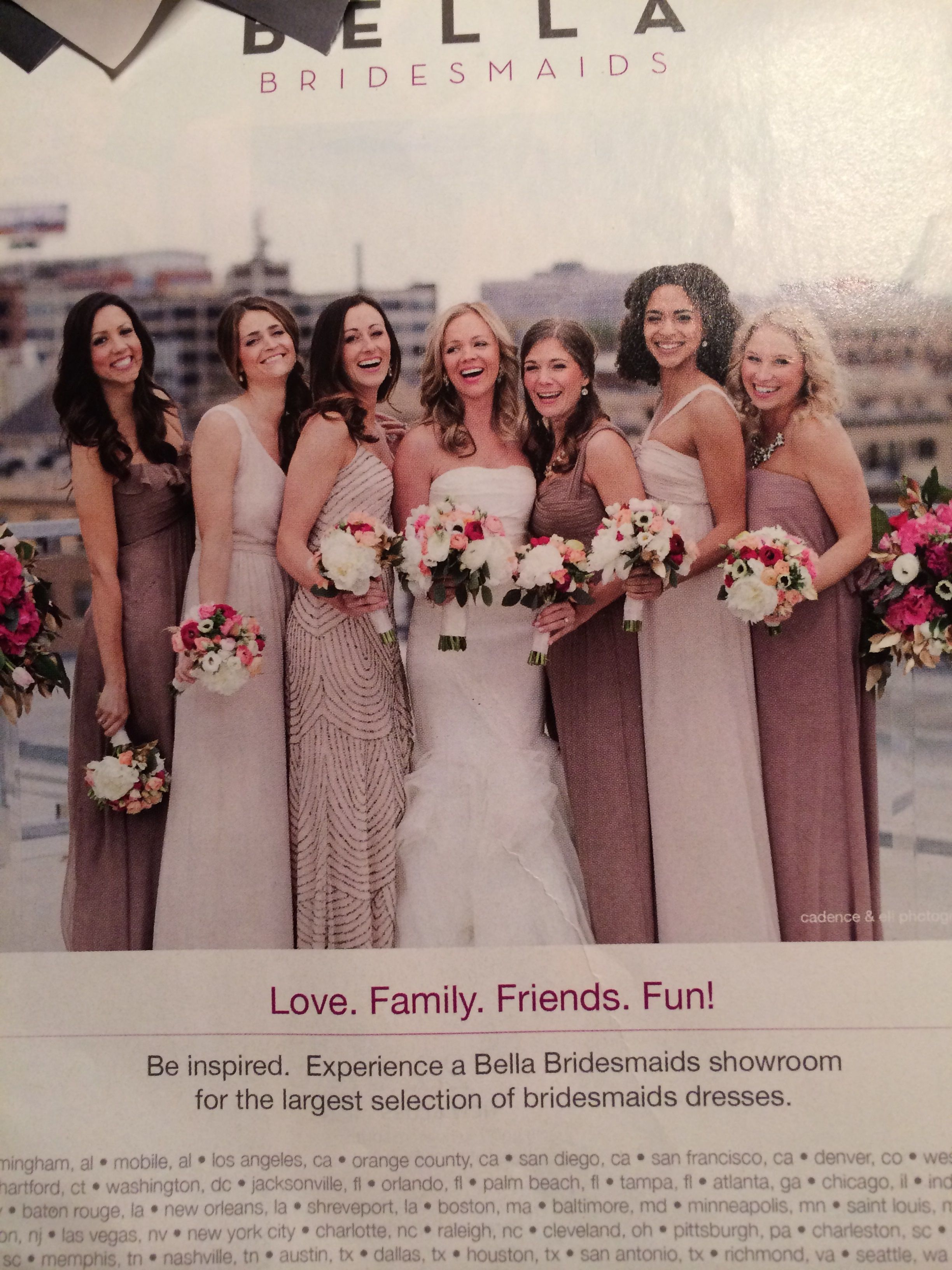 The aesthetic we want bridesmaids pinterest explore bridesmaids bridesmaid dresses and more ombrellifo Gallery
