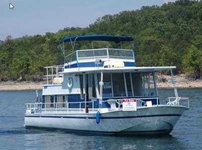 River Queen Boat For Sale 1971 River Queen Houseboat River