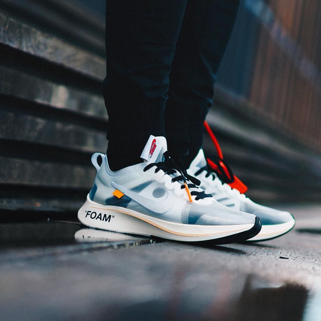 Nike Nike x Off White The 10: Nike Zoom Fly Black | Nike