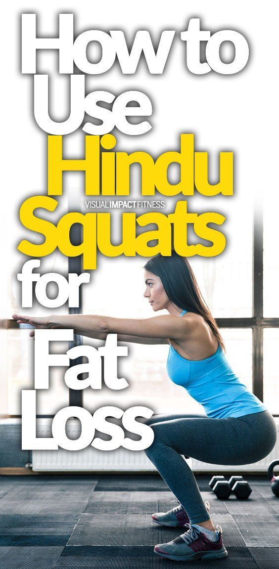 How to Use Hindu Squats for Fat Loss I have recently decided to include Hindu Squats into my workou