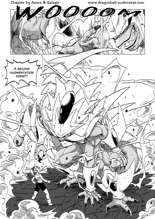 The New Abilities Of Fusion Page 1169 Dragon Ball Multiverse Dragon Ball Super Art Dragon Ball Savage Pics