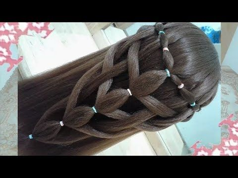 HAIRSTYLE STEP-BY-STEP FASHION 2018 FOR SCHOOL WITH EASY AND QUICK BRAIDS #6