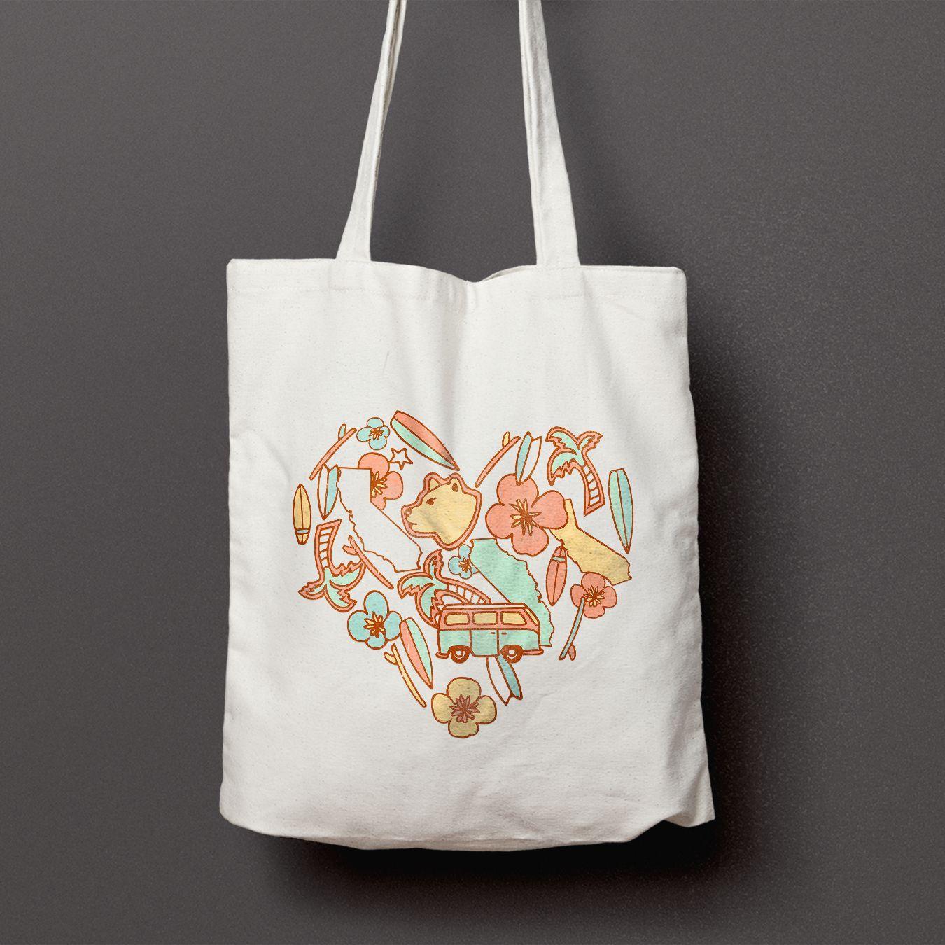 Bear Medley Tote Bag