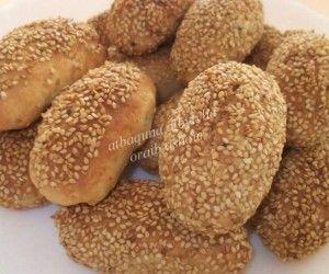 وصفة الكعك بالسمسم Recipe Middle Eastern Food Desserts Middle Eastern Desserts Healthy Biscuits