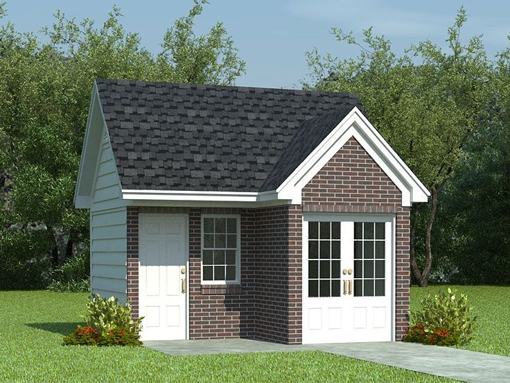 Motorcycle Garage Plan 006G0001 Dream Home – Motorcycle Garage Plans