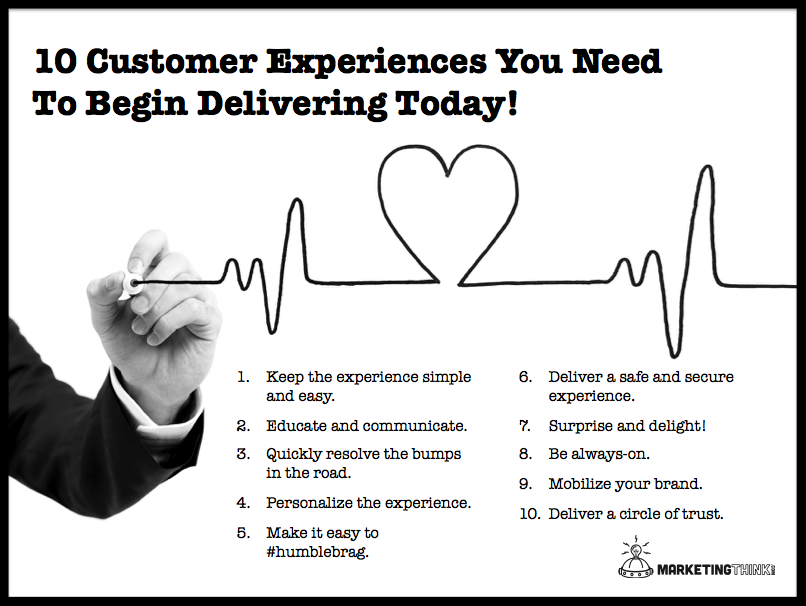 10 Customer Experiences You Need To Deliver (With images