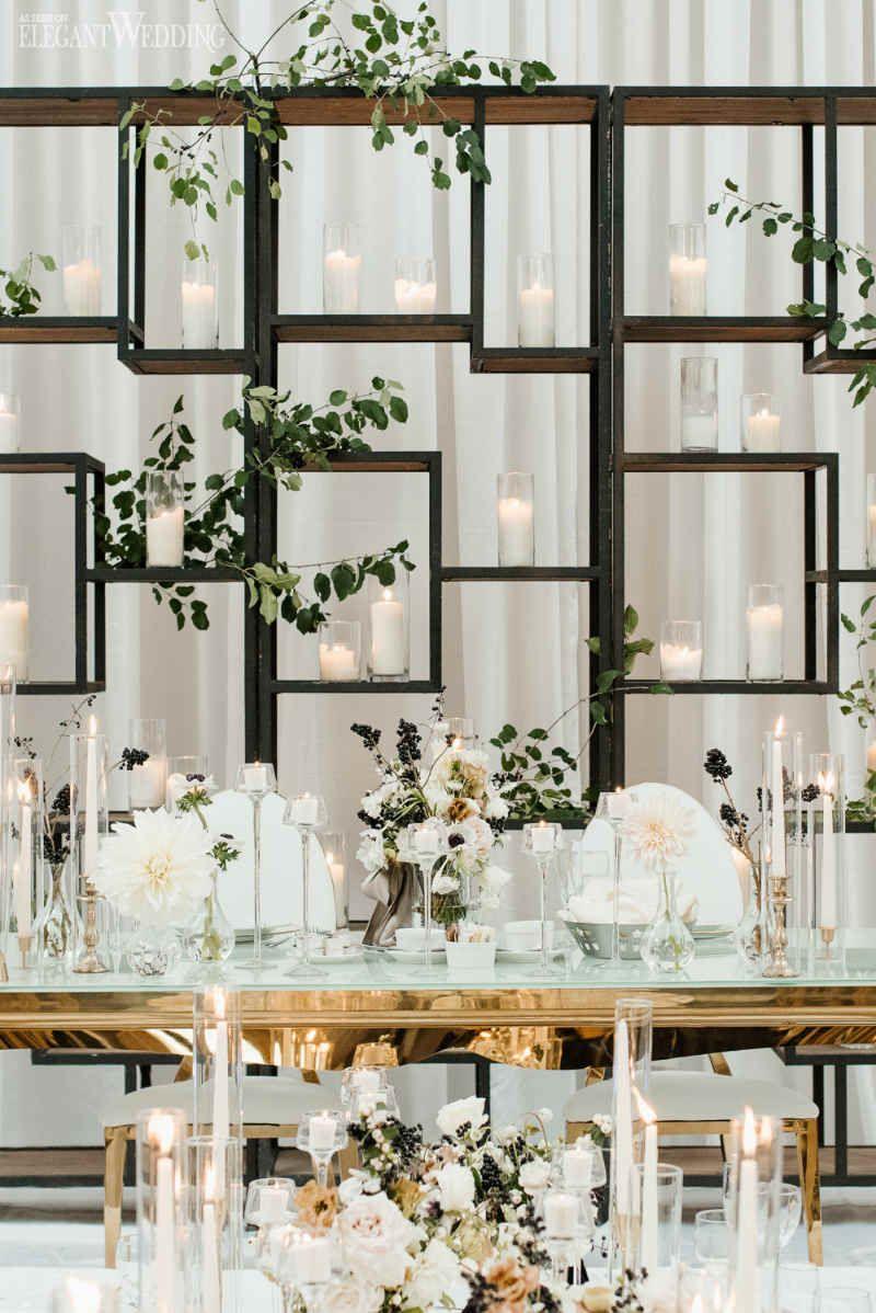 Modern Black and White Wedding | ElegantWedding.ca ...
