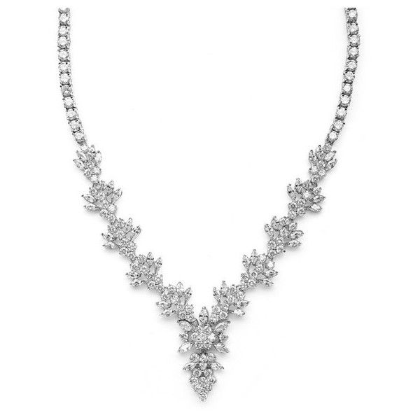 Bridal & Wedding Necklaces – Roman & French - Bridal & Jewellery,... ❤ liked on Polyvore featuring necklaces