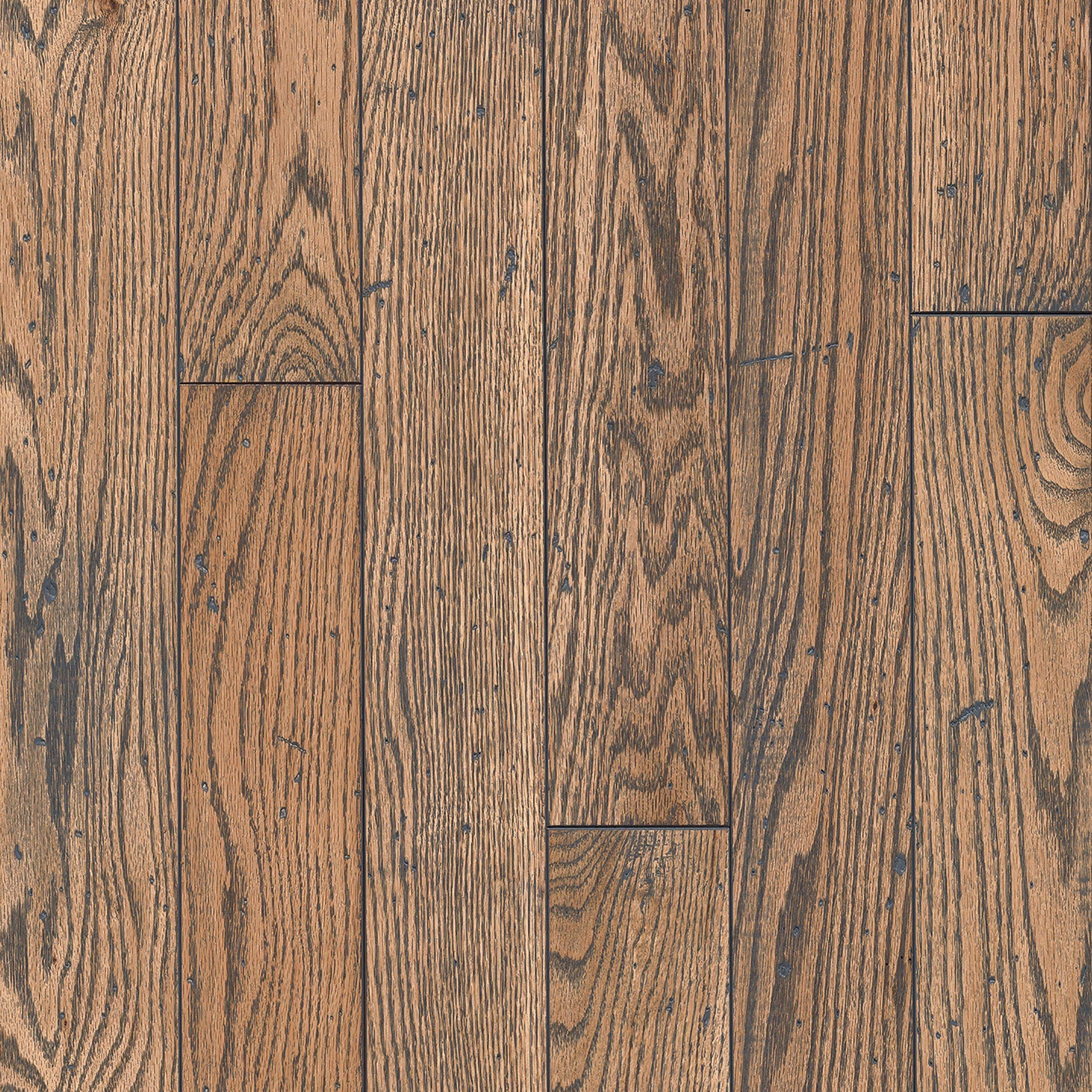 Natural Gray Oak Distressed Solid Hardwood Hardwood Grey Oak