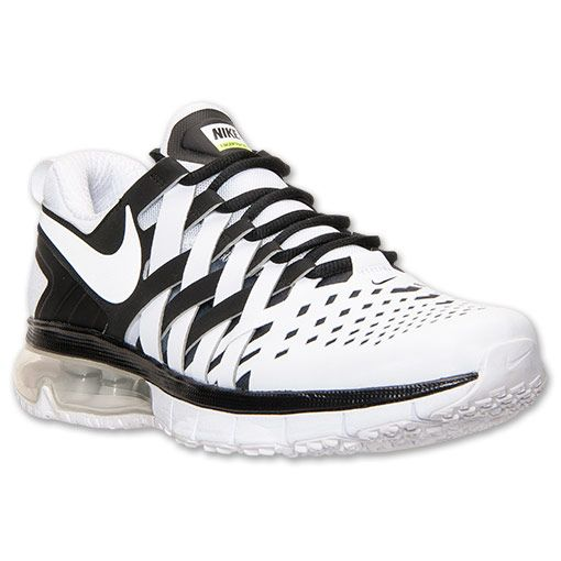 quality design 29f85 2d8a0 Men s Nike Fingertrap Air Max Training Shoes - 644673 011   Finish Line    Black White