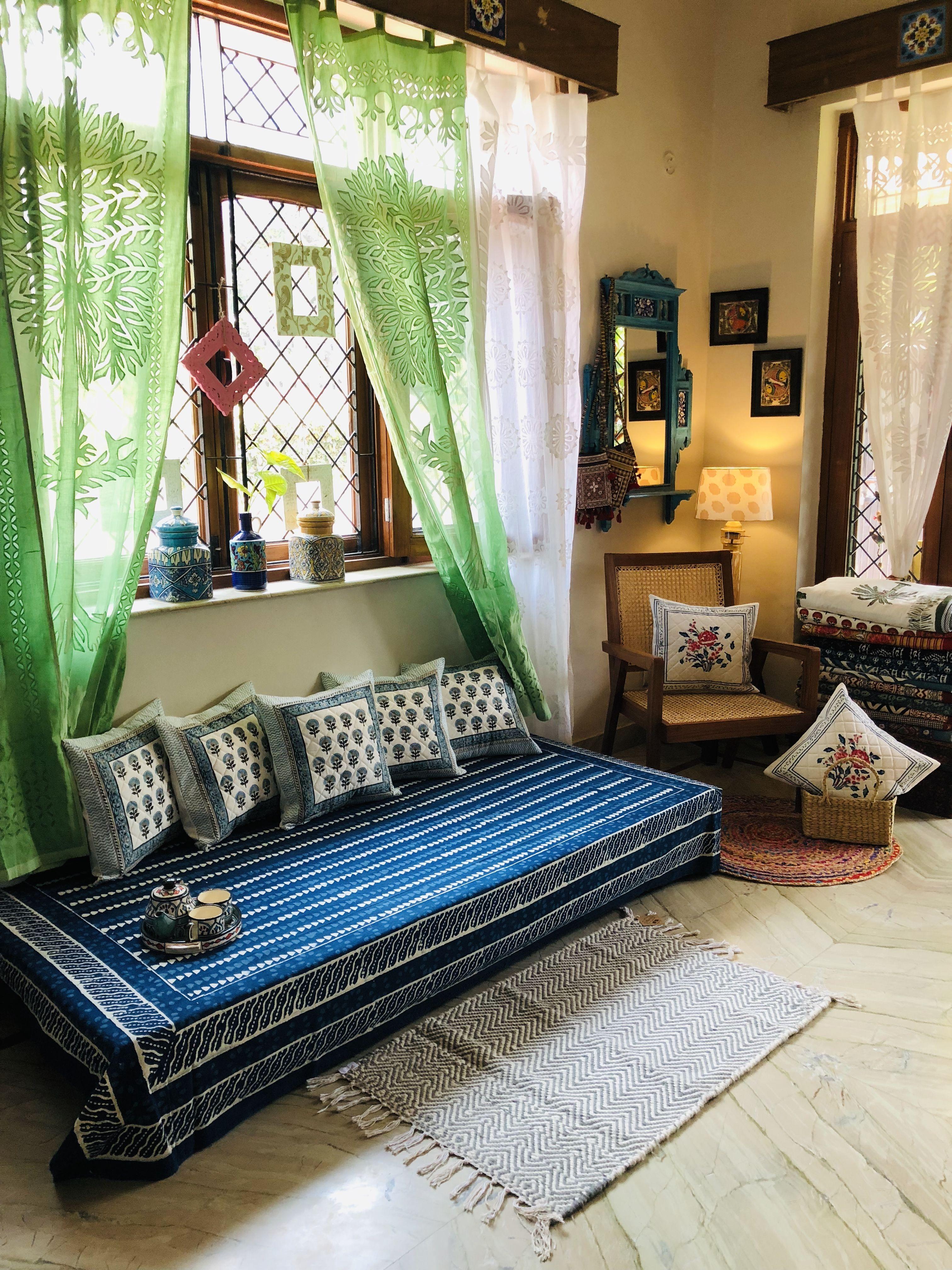 Pin by Hathkargha on Hathkargha home Indian bedroom