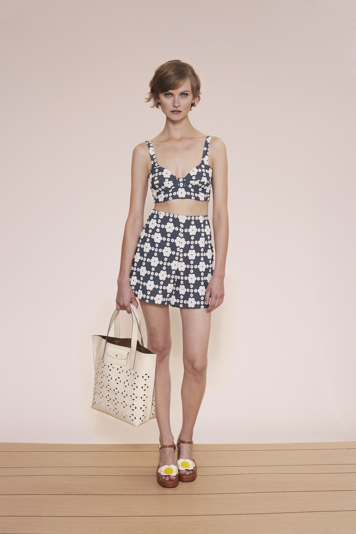 Orla Kiely spring 2015 lookbook #skirt