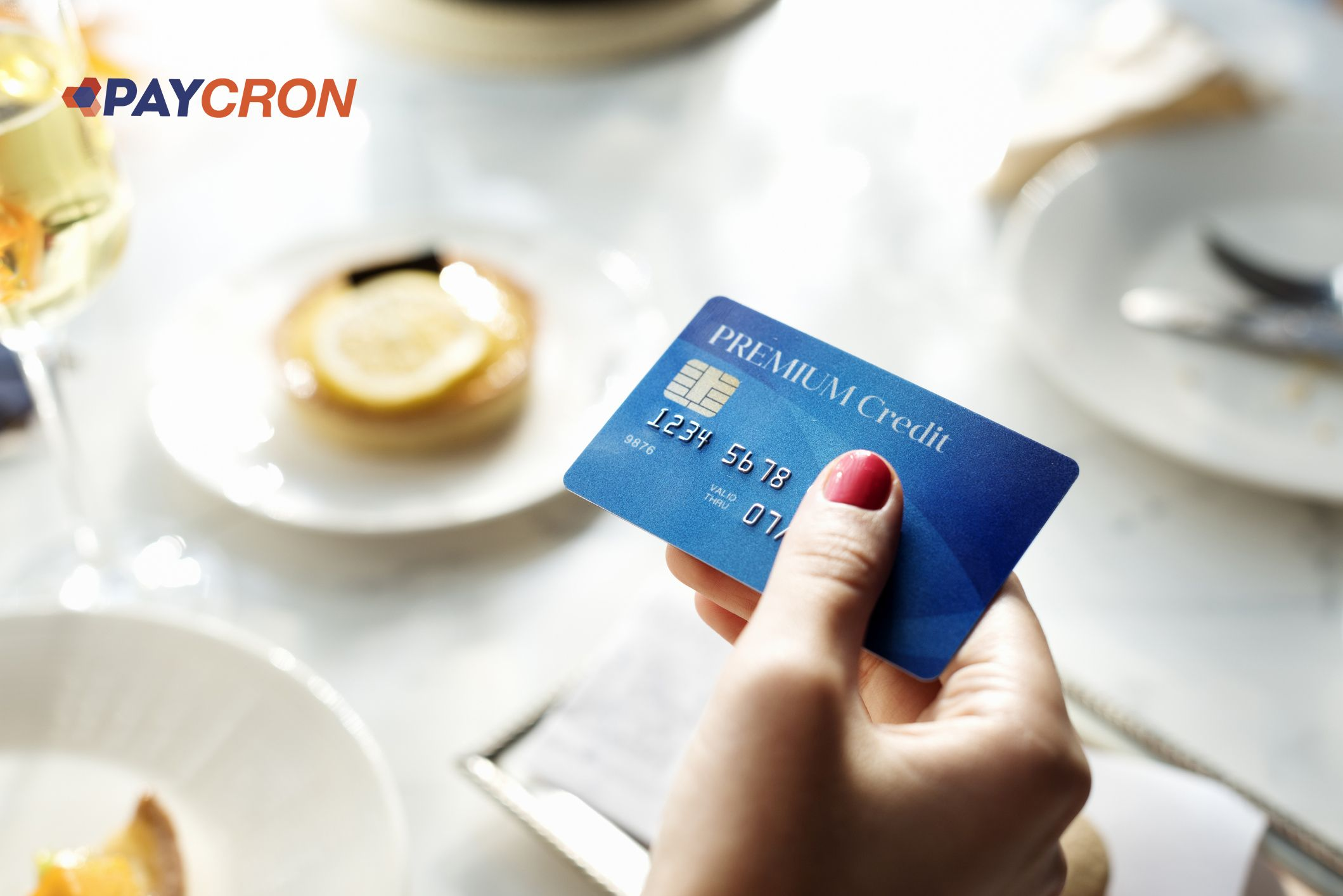 Credit card seamless shopping starts with it