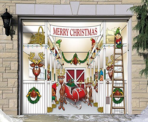 Christmas Door Banners U0026 2015 Personalized Christmas Door Banner With Rod  And Ribbon Satin Flag Merry Christmas Print .