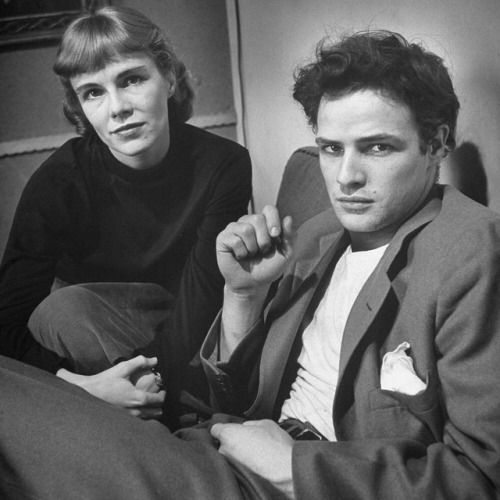 life:  Marlon Brando with his sister Jocelyn, 1948. (Lisa Larsen—The LIFE Images Collection/Getty Images) #LIFElegends