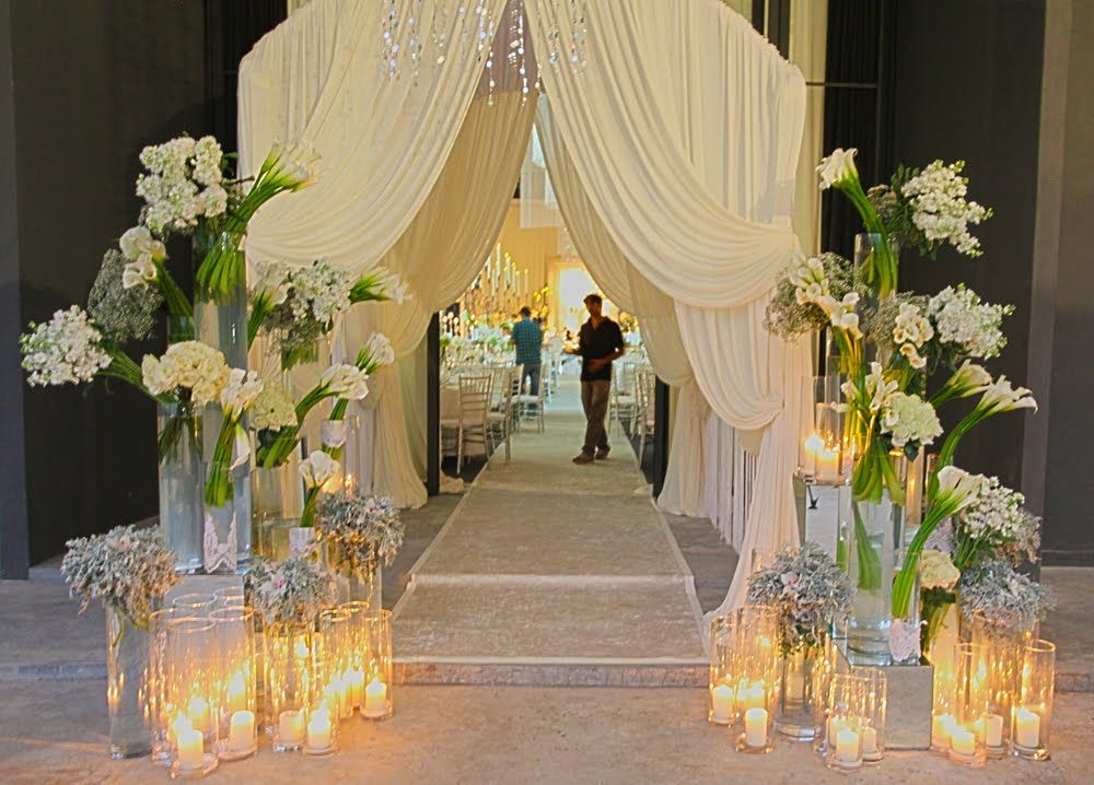 G … wedding door entries decor