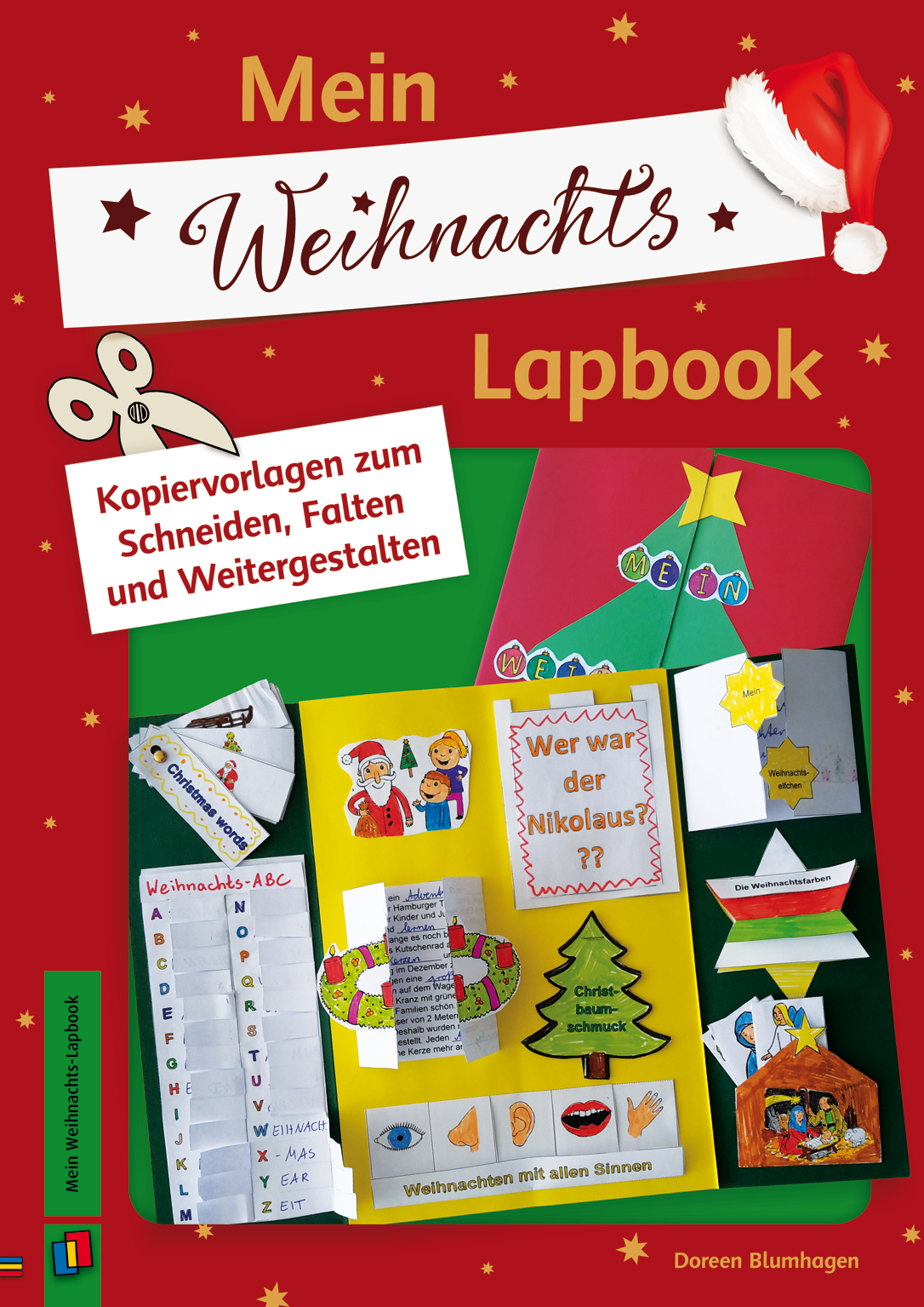 Mein Weihnachts-Lapbook | iskola | Pinterest | Religion, School and ...