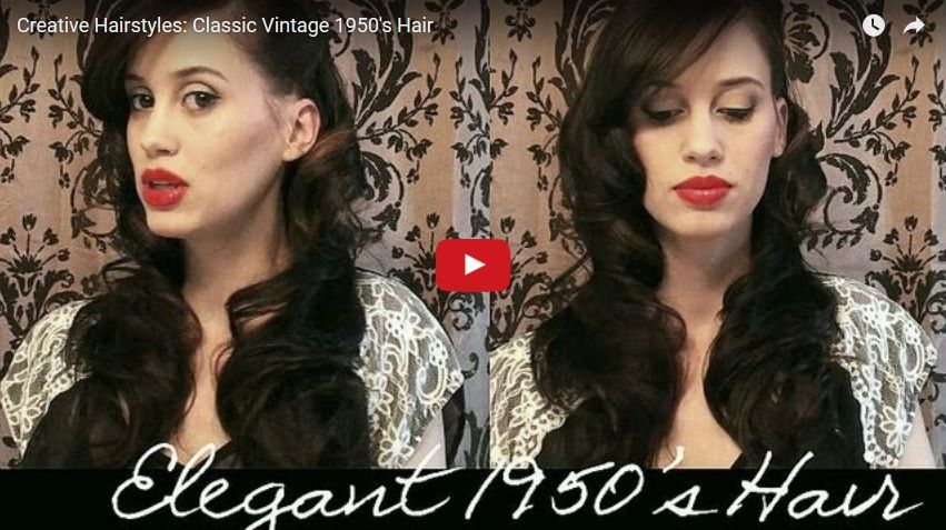 Pin on 50S Hairstyles For Long Hair