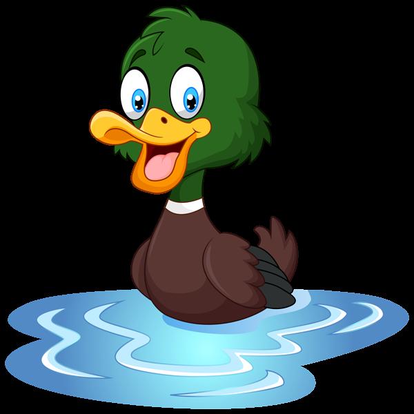 Duck Png Clip Art Image Cartoon Animals Cartoon Pics Cute Cartoon Animals