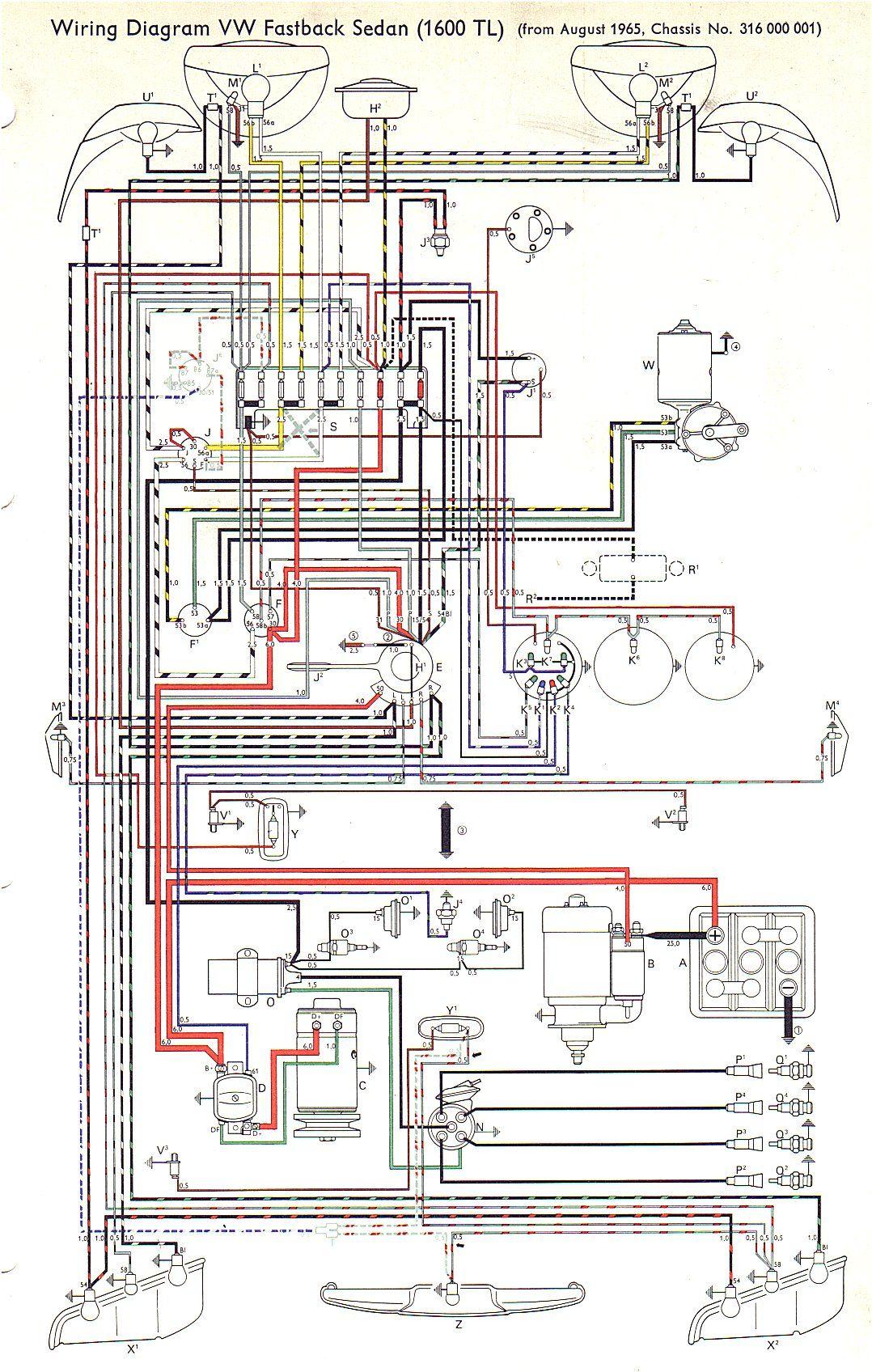 vw type 3 wiring diagrams in vw diagram in 2003 vw passat wiring diagram [ 1078 x 1696 Pixel ]
