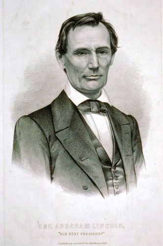 Abraham Lincoln | Lithograph | Currier & Ives