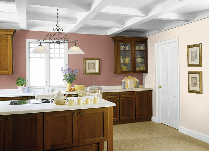 This is the project I created on Behr.com. I used these colors: ORANGE CONFECTION(270E-1),TOASTED NUTMEG(200F-5), kitchen colors