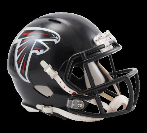 Atlanta Falcons Speed Mini Helmet Atlanta Falcons Helmet Mini Football Helmet Football Helmets
