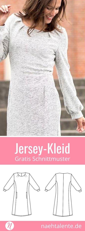 Sonja - Jerseykleid für Damen   Ausdrucken, Besuchen und Für damen