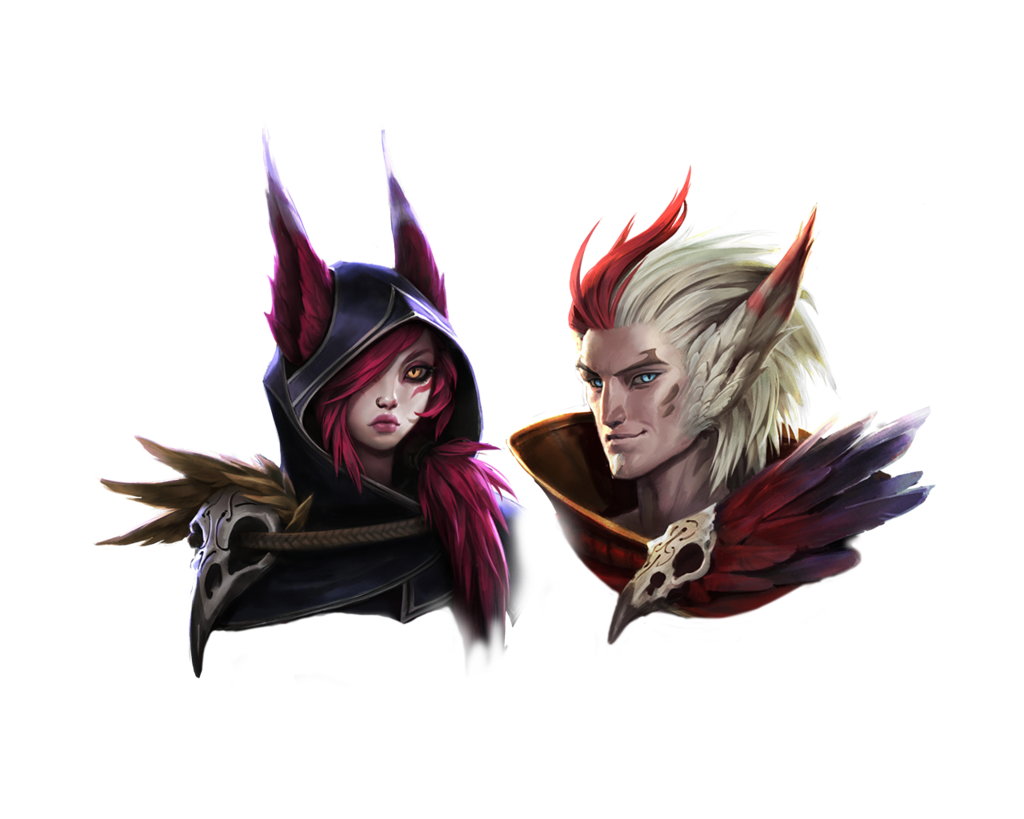 League of legends rakan and xayah render by playerpt1 xayah league of legends rakan and xayah render voltagebd Choice Image