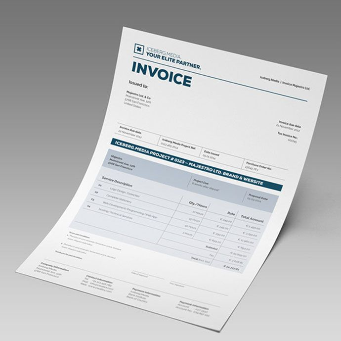 invoice-designs-2016-2jpg (690×689) Design Pinterest - invoice designs