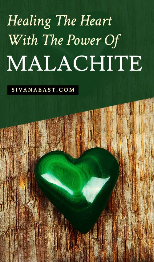 Healing The Heart With The Power Of Malachite