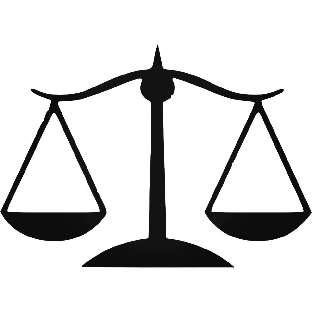 Law Justice Scale Lady Justice Lawyer Vinyl Decal Sticker