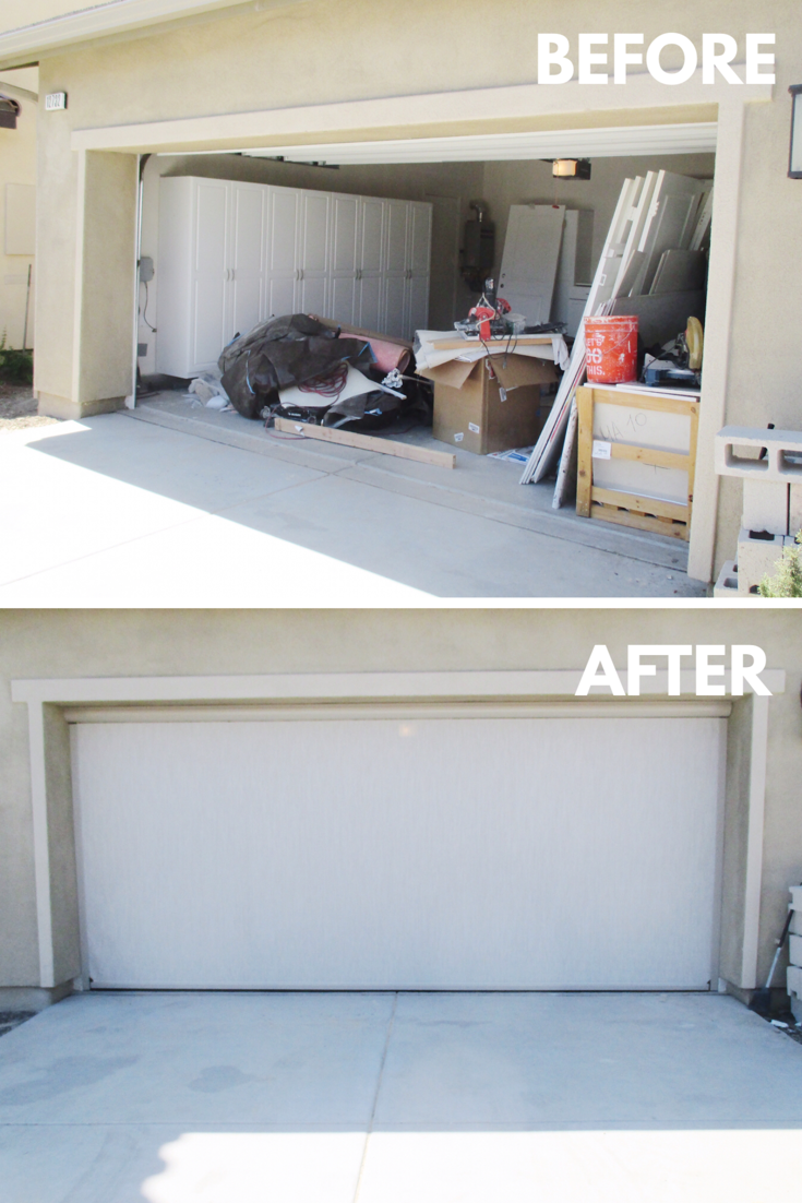 In This Southern California Heat Ventilating Your Garage Is Absolutely Necessary With A Motorized Power Screen Solar Screens Garage Screen Door North Tustin