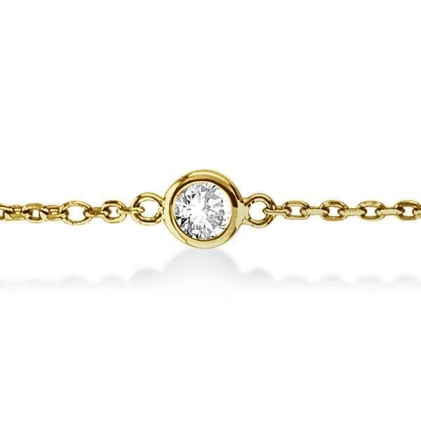 Diamonds By The Yard Bracelet 14k Gold